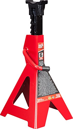 Torin Big Red Steel Jack Stand: 6 Ton Capacity, Single Jack by Torin (Image #12)