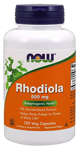 Now Foods Rhodiola 60Caps, 500mg