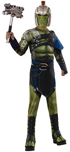 Thor: Ragnarok Deluxe Warrior Hulk Child's Costume, (Deluxe Space Warrior Costumes)
