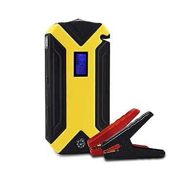 QUARKJK Multi-Function Jump Starter 12v 16800mah Mini Power Bank Battery for Gasoline/Diesel Cars with Tool Box