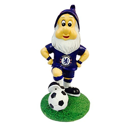 (Chelsea FC Gnome with the Football by Premier Life Store )