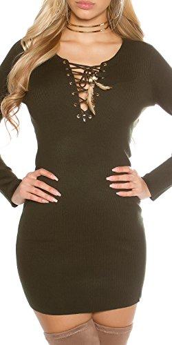 KouCla - Vestido - para mujer caqui