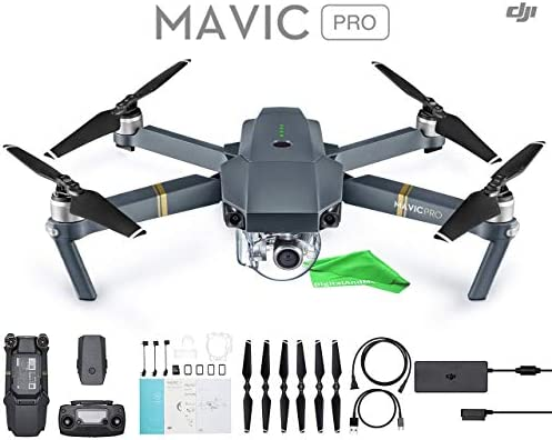 DJI Mavic Pro + DigitalAndMore Ultra Gentle Micro Fiber Cleaning Cloth (Base)