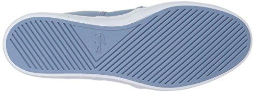 Lacoste Frauen Gazon 118 2 Caw Sneaker Licht Blu / Dark Purp