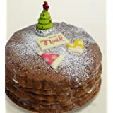 eL cafe ( エルカフェ ) クリスマスケーキ 【 お届け日指定 12/24 】 Chocolate de Noel 直径約15cm×高さ約5cm