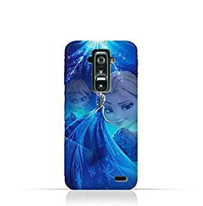 LG G Flex TPU Protective Silicone Case with Frozen Elsa Design