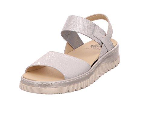 Nens Sandales pour Femme Silber