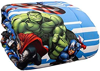 Colcha para cama individual (microfibra Avengers