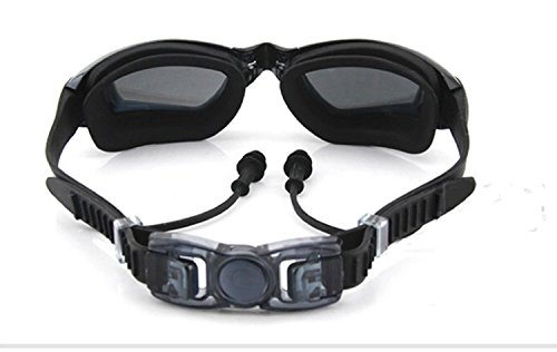 b1fd3bfe9a1 New Corrective Nearsighted Swimming Goggles(Prescription 2.0-8.0 Diopters)  Ear Plug Connect to