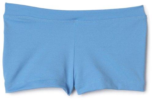 Capezio Big Girls' Boy Cut Low Rise Short,Columbia Blue,M ()