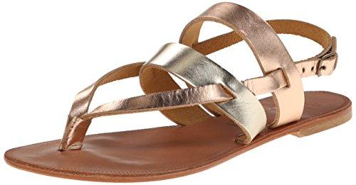 Platinum Sandal Flat Rose Women Positano Joie Gold ItwpqZx