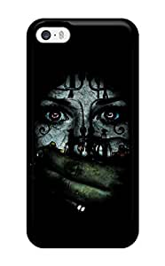 Hot Tpu Cover Case For Iphone/ 5/5s Case Cover Skin - Scary