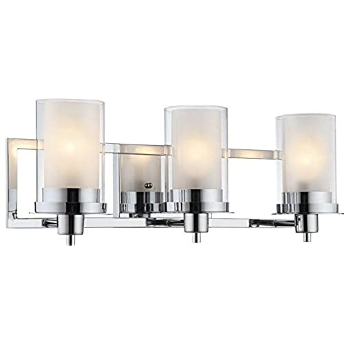 Chrome Bathroom Lights Amazon Extraordinary Chrome Bathroom Lighting Fixtures
