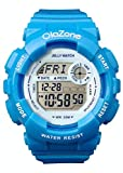 Girls Watch Digital Young Water Resistt 100FT Alarm Sports Watch Gifts for Teens Age 11-20 (Light Blue)