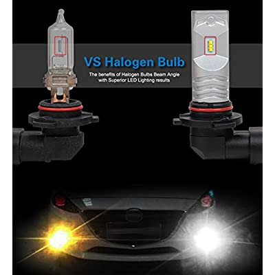 JDM ASTAR High Performance Bright White CSP Chipsets H11 H8 LED Fog Light Bulbs: Automotive