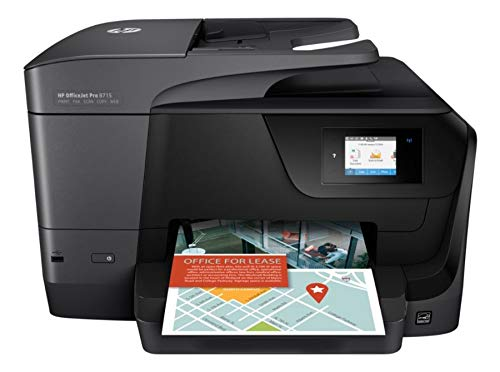 HP Officejet Pro 8715 All-in-One Multifunction Printer - Thermal Inkjet - Print/Copy/Scanner/Fax by HP (Image #8)