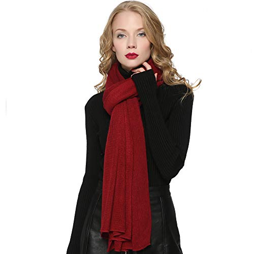 Knit Fashion Scarf - ZORJAR Women's Men Fashion Long Shawl Plush Knit Winter Warm Large Scarf 86