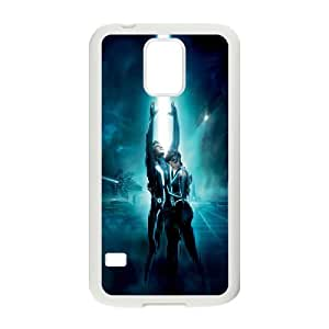 Tron Legacy ROCK0021740 Phone Back Case Customized Art Print Design Hard Shell Protection SamSung Galaxy S5 G9006V