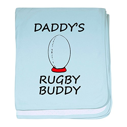CafePress - Daddys Rugby Buddy Baby Blanket - Baby Blanket, Super Soft Newborn Swaddle