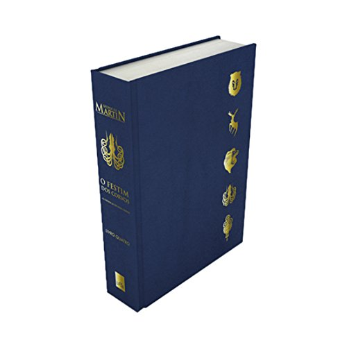 A Guerra dos Tronos: O Festim dos Corvos (Livro 4) - As Crônicas de Gelo e Fogo em Edição de Luxo (+ Um Pin da Casa Greyjoy)