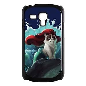 Cute Grumpy Cat Cartoon Hard Shell Cover Case for Samsung Galaxy S3 SIII Mini i8190 by icecream design