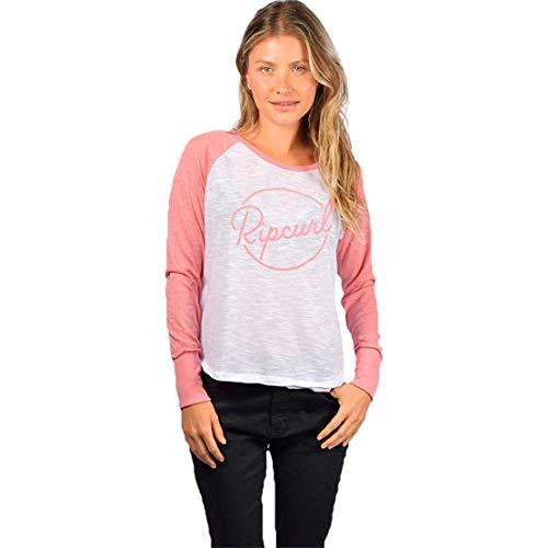 Camiseta Rip Curl Sun Daze - Branco Rosa-P