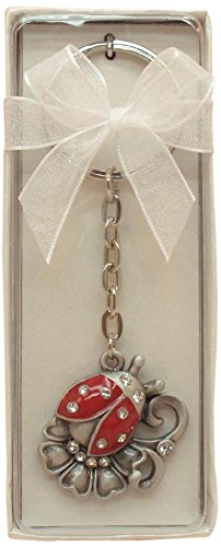- Fei Gifts Lady Bug Pewter Key Chain