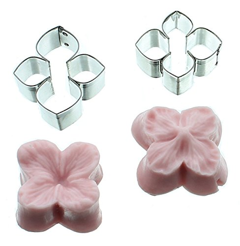ea Flower Silicone Mold and Cutter Set with Instructions (Hydrangea Sugar)