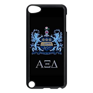 Durable Hard cover Customized TPU case Alpha Xi Delta iPod Touch 5 Case Black