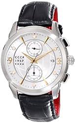 CCCP Men's CP-7002-03 Sputnik 1 Limited Edition Analog Display Japanese Quartz Black Watch