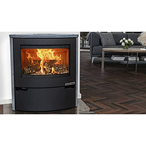 Aduro 15SK: Estufa de leña 6,5 kW, jabón negro, alta eficiencia, elegante diseño danés y tecnología: Amazon.es: Bricolaje y herramientas