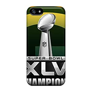 Iphone 5/5s NEc5488KFfQ Provide Private Custom Lifelike Green Bay Packers Image Best Cell-phone Hard Covers -CassidyMunro