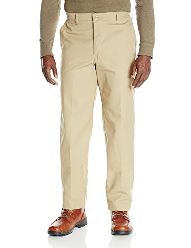 Red Kap Uniforms Men's Elastic Insert Work Pant, Khaki, 4...