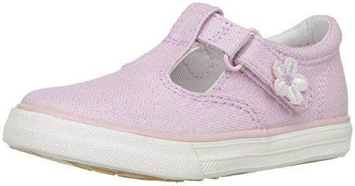 Keds Daphne T-Strap Sneaker (Toddler/Little Kid), Pink 650, 8.5 M US Toddler