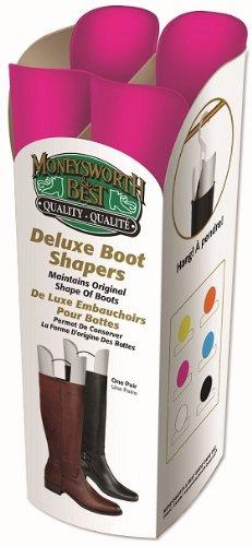 Moneysworth & Best Deluxe Boot Shaper - Razzle Dazzle Pink
