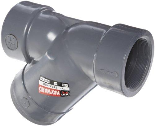 Hayward PVC Y-Strainer, FPM Seal, 4'' Threaded by Hayward Flow Control