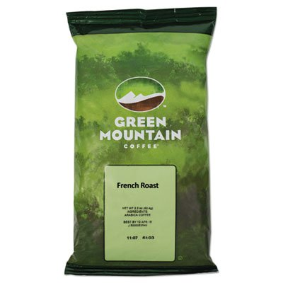 GMT4441 - Green Mountain Coffee Roasters French Roast Coffee Fraction Packs