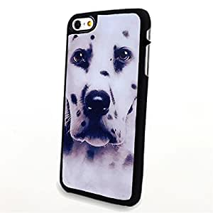 apply Phone Accessories Matte Hard Plastic Phone Cases 3D Animal Portrait Dalmatians Dog fit For HTC One M7 Case Cover