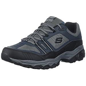 Skechers Sport Men's Afterburn Strike Memory Foam Lace-Up Sneaker