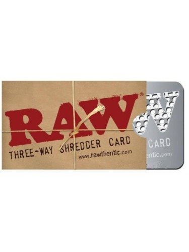Three way raw