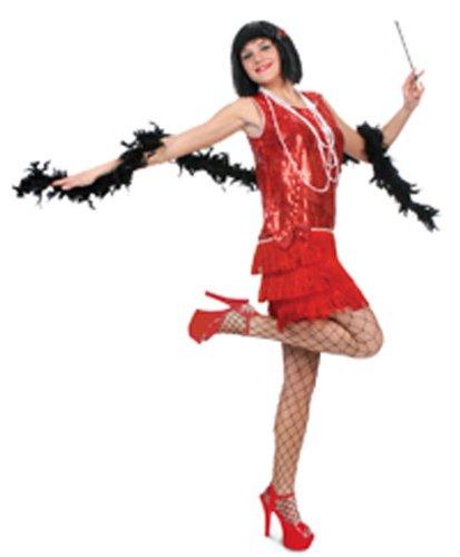 Flirty Flapper Adult Costume ()