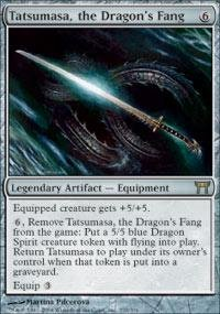 Magic: the Gathering - Tatsumasa, the Dragon's Fang - Champions of Kamigawa