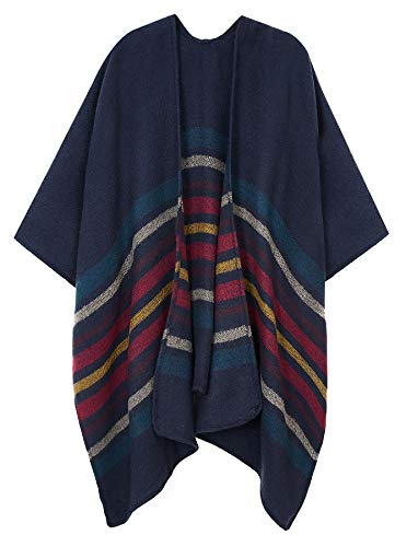 Womens Lightweight Small Poncho For Spring Autumn