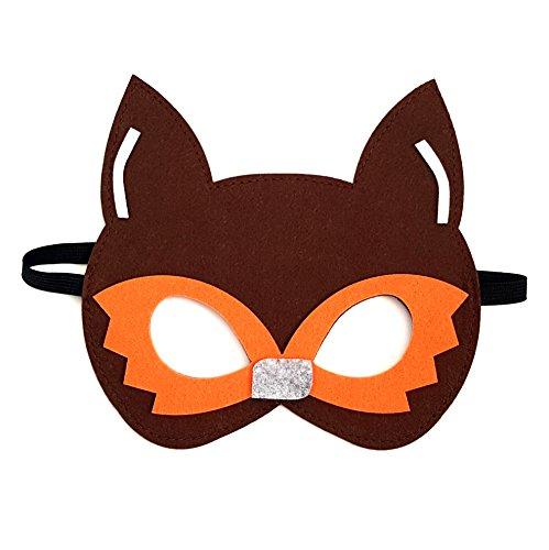 Fantastic Mr Fox Fancy Dress Costume (Fantastic Fox Kids Childrens Fancy Dress Felt Costume Mask)
