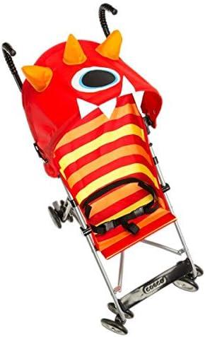Character Umbrella Stroller in Monster Elliott Red Metal Jpma Certified