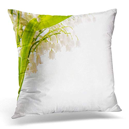 Dr-Drin fujianput Throw Pillow Cover Green Aroma Lily