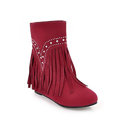 BalaMasa Abl10658 Sandales Compensées Femme Rouge Red, 37.5 EU, ABL10658