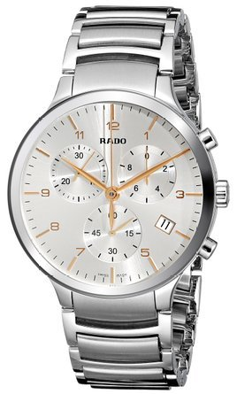 Rado-R30122113-Mens-Centrix-Chronograph-Stainless-Steel-Silver-Tone-Dial-Ss-Watch