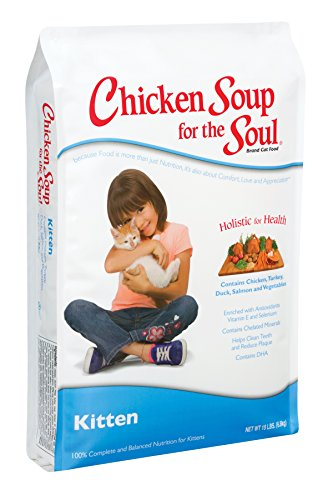 Chicken Soup for the Soul Kitten Food - Chicken, Brown Rice, & Pea Recipe, 5 lb
