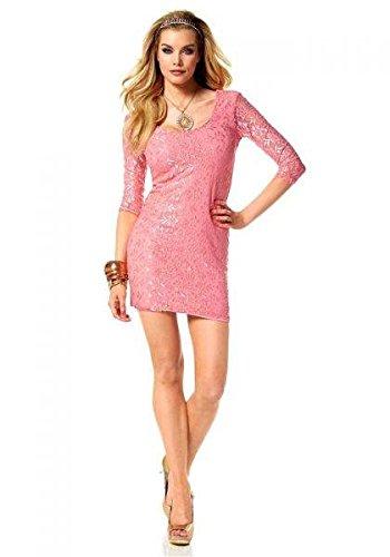 Melrose Spitzenkleid, lachs Kleider Kleid Sommerkleid kaufen